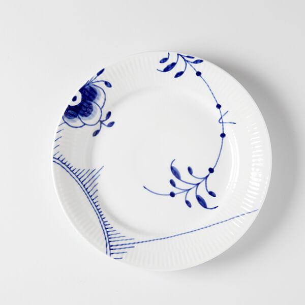 Musselmalet - Frokost tallerken