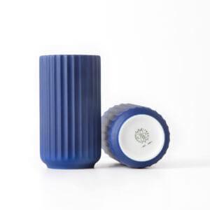 Lyngbyvase blå 12cm