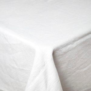 Hvid hørdug