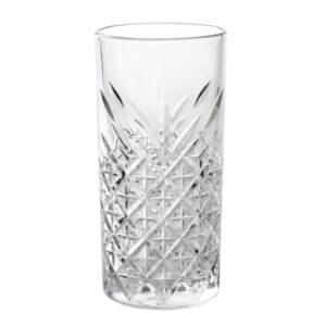 glasvase med mønster