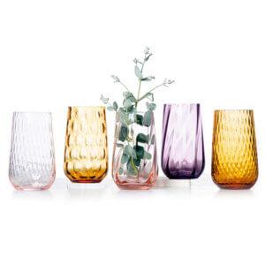 Vaser farvede-assorteret
